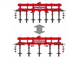 Modulární konstrukce umožňuje měnit počet a rozteč slupic se střižným jištěním